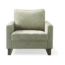 Rivièra Maison Fauteuil 'West Houston' Velvet, kleur Platinum