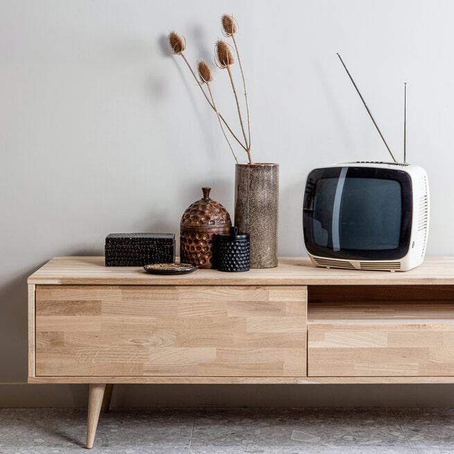 WOOOD TV-Meubel 'Tygo' eiken, 150cm