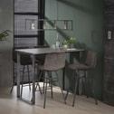 Industriële Bartafel 'Queens' MDF 120 x 70cm, kleur 3D-betonlook