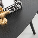 WOOOD Bijzettafel 'Nila' Set van 2 stuks, kleur Zwart