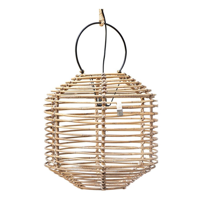 Rivièra Maison Hanglamp 'Natural Lantern XL'