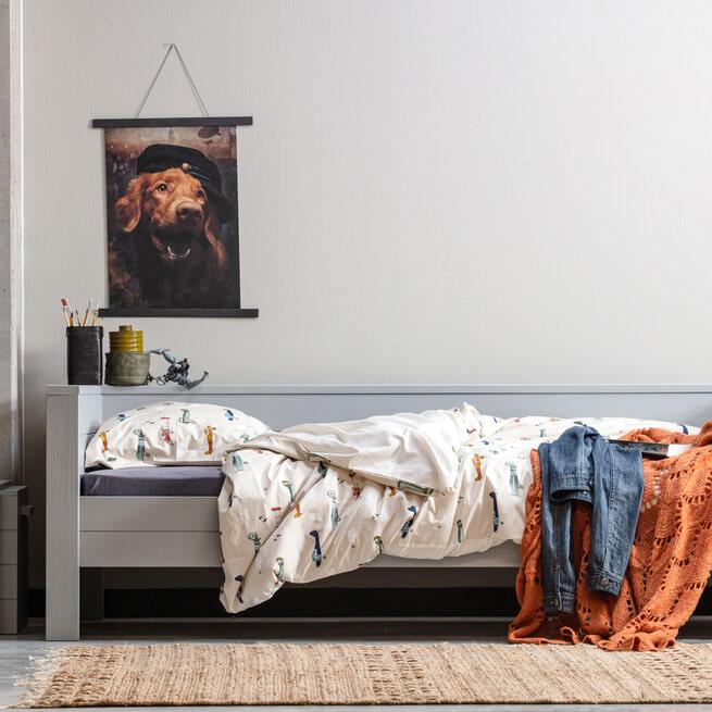 WOOOD Exclusive Vloerkleed 'Mella' 170 x 240cm, kleur Naturel