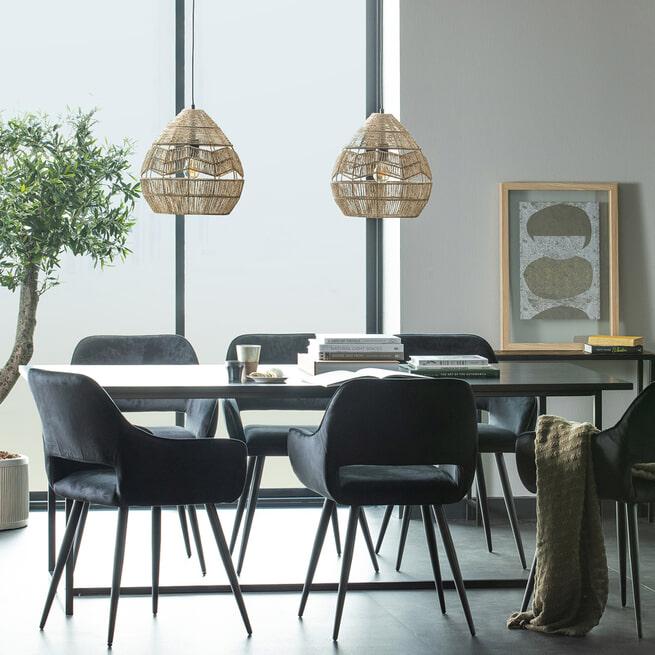 WOOOD Exclusive Hanglamp 'Adelaide' Ø35cm