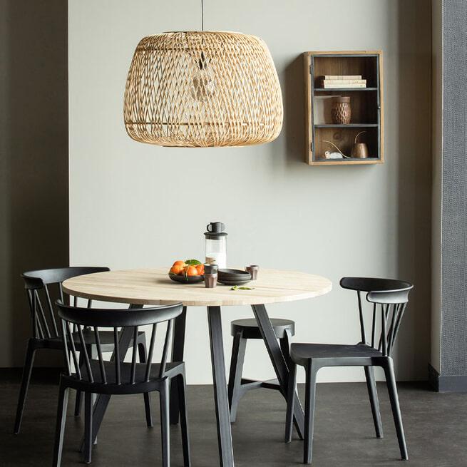 WOOOD Hanglamp 'Moza' Ø70cm