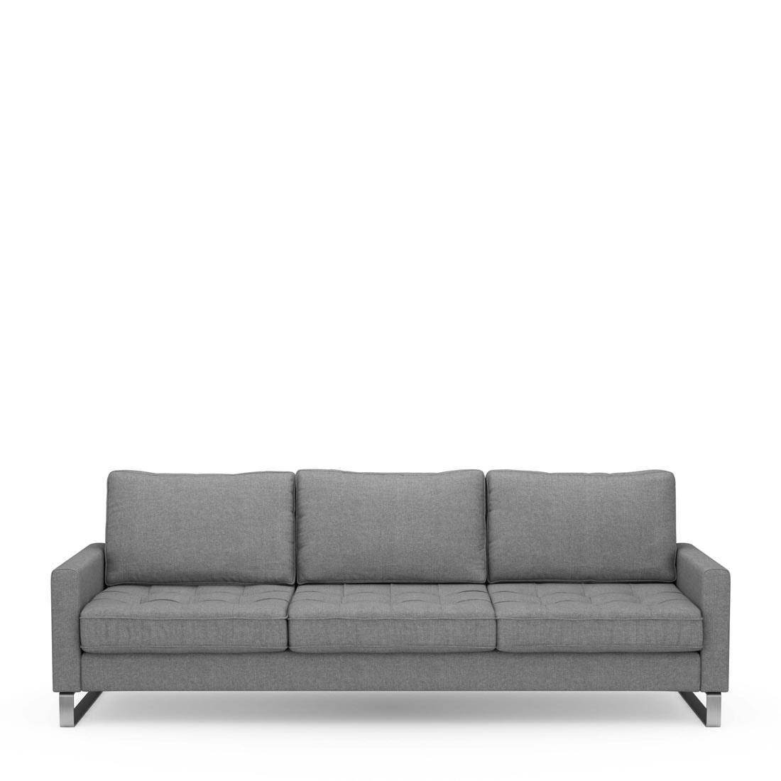 Riviera Maison 3,5-zits Bank 'West Houston' Cotton, kleur Grey