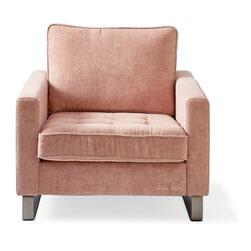 Rivièra Maison Fauteuil 'West Houston' Velvet, kleur Blossom