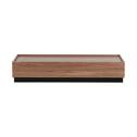 vtwonen Salontafel 'Block' 135 x 60cm, kleur Walnoot