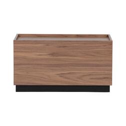 vtwonen Bijzettafel 'Block' 40 x 82cm, kleur Walnoot
