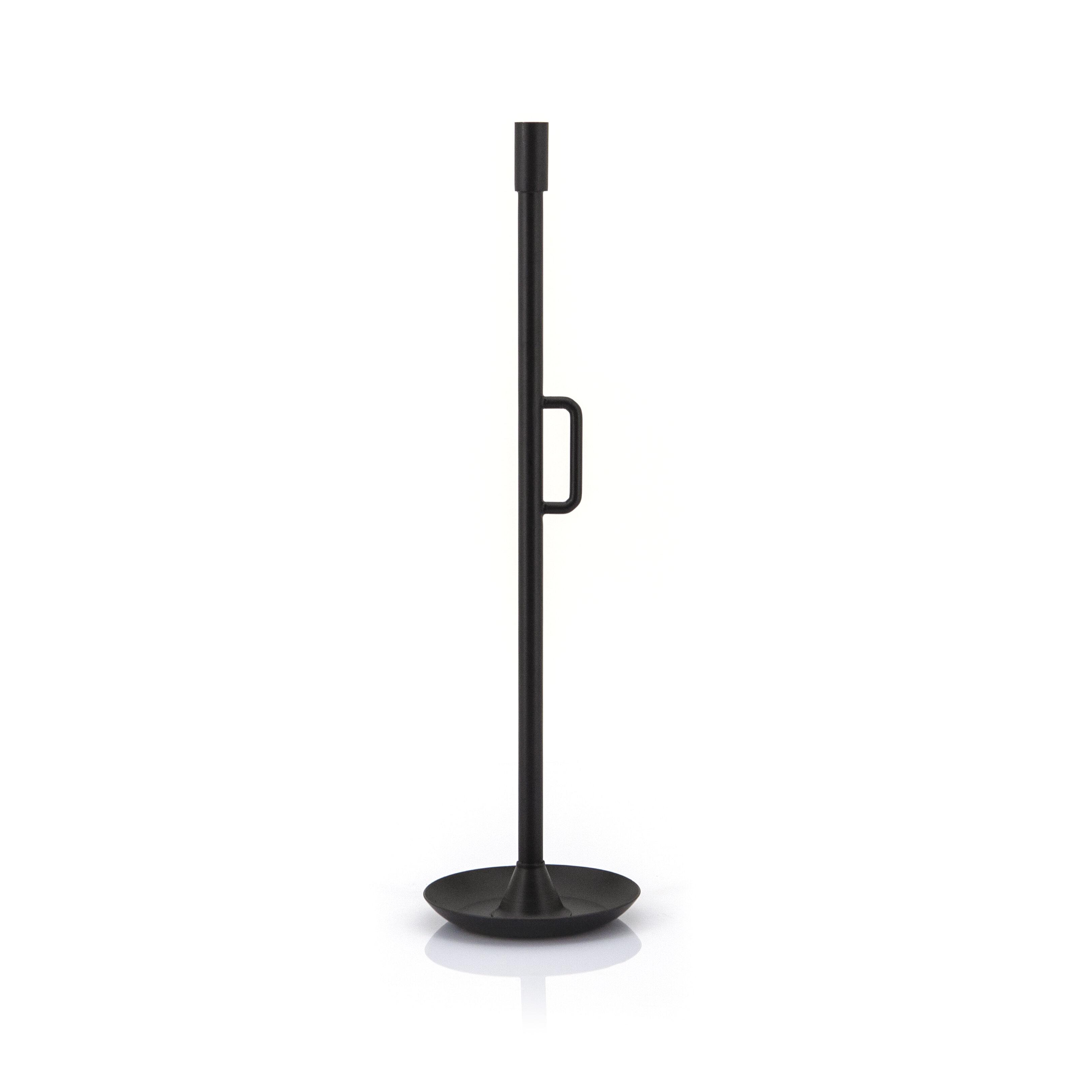 By-Boo Kandelaar Wick large', kleur Zwart