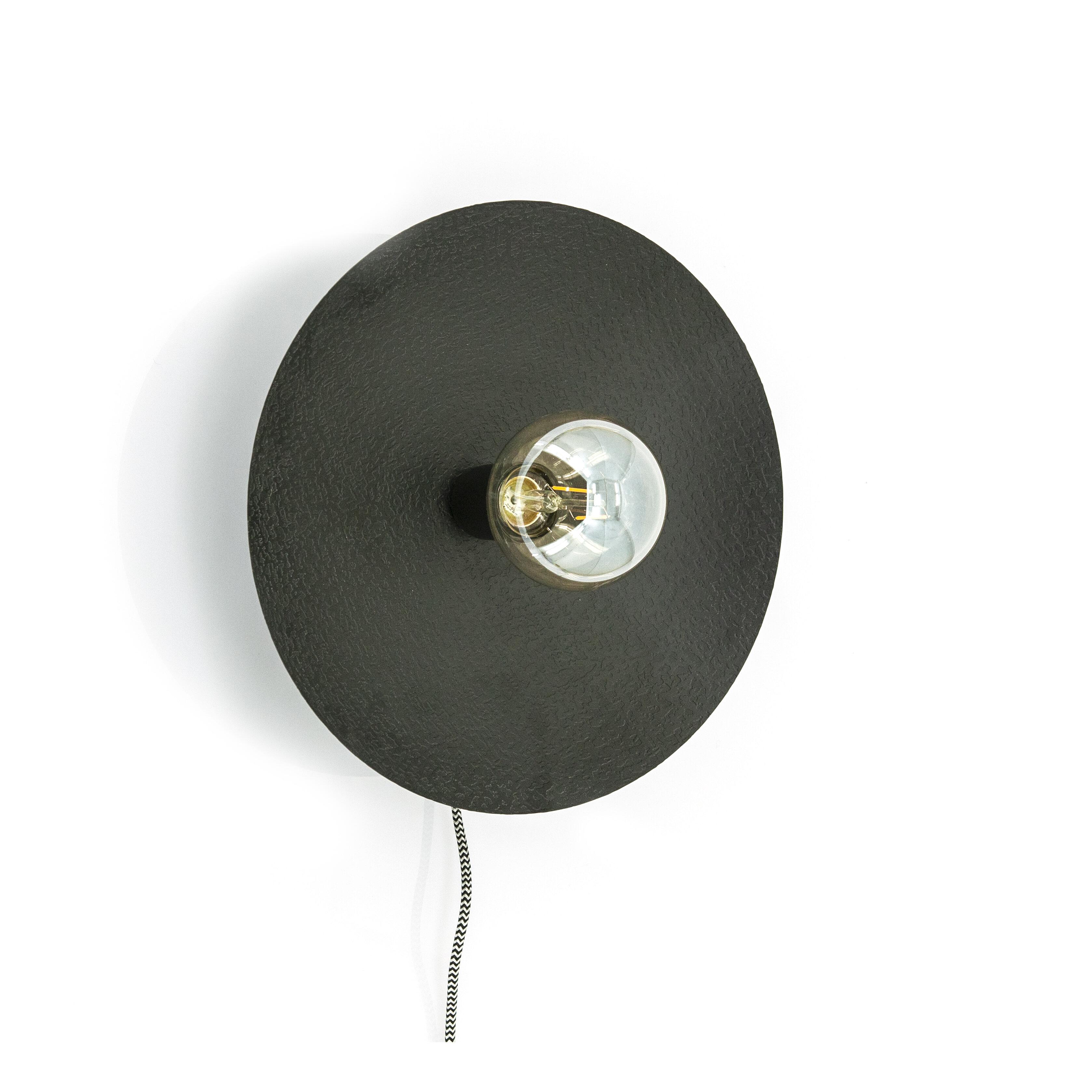 By-Boo Wandlamp 'Horus' Klein, kleur Zwart
