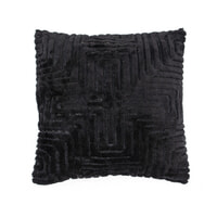 By-Boo Kussen 'Madam' 45 x 45 cm, kleur Zwart