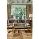 Rivièra Maison 3-zits Bank 'Crescent Avenue' Velvet, kleur Olive