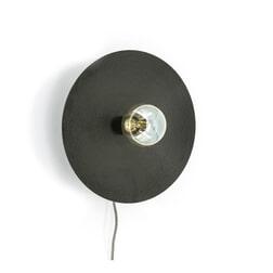 By-Boo Wandlamp 'Horus' kleur zwart