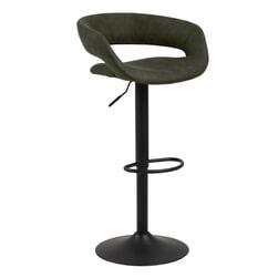 Bendt Barkruk 'Pia' (zithoogte 59-80cm), kleur Olive Green