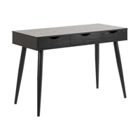 Bendt Bureau / sidetable 'Märta' 110 x 50cm, kleur Zwart