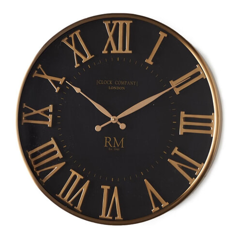 Rivièra Maison Wandklok 'London Clock Company' 51cm