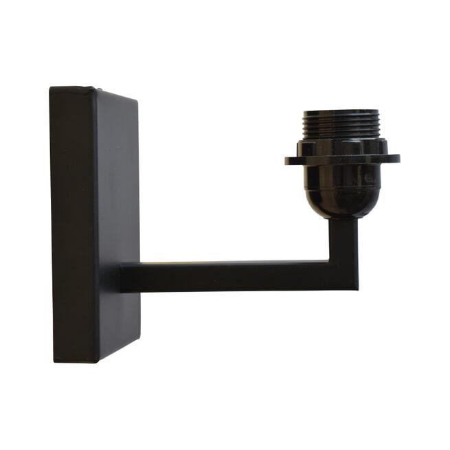 Urban Interiors wandlamp 'Basic', kleur Antique Black