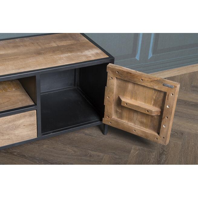 LivingFurn TV-meubel 'Sturdy' kleur Naturel