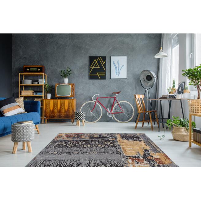 Kayoom Vloerkleed 'Blaze 500' kleur Multicolor