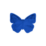 Kayoom Vloerkleed 'Vlinder' kleur Blauw, 70 x 90cm