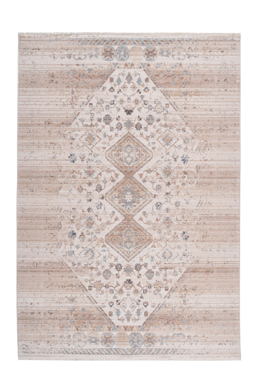 Kayoom Vloerkleed 'Barok 1100' kleur Beige, 80 x 150cm