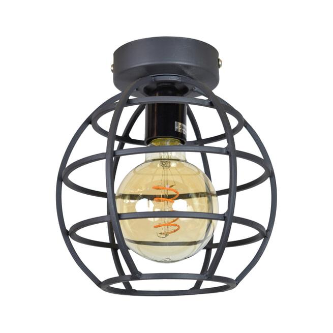 Urban Interiors plafondlamp Globe Ø19x24 Small, kleur Vintage Black