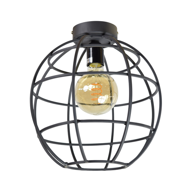 Urban Interiors plafondlamp Globe Ø28x30 Large, kleur Vintage Black