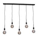Urban Interiors hanglamp 'Bulby 5-lichts', kleur Zwart