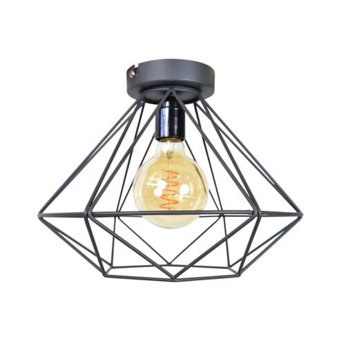 Urban Interiors plafondlamp Wire Ø33x20 Large, kleur Vintage Black