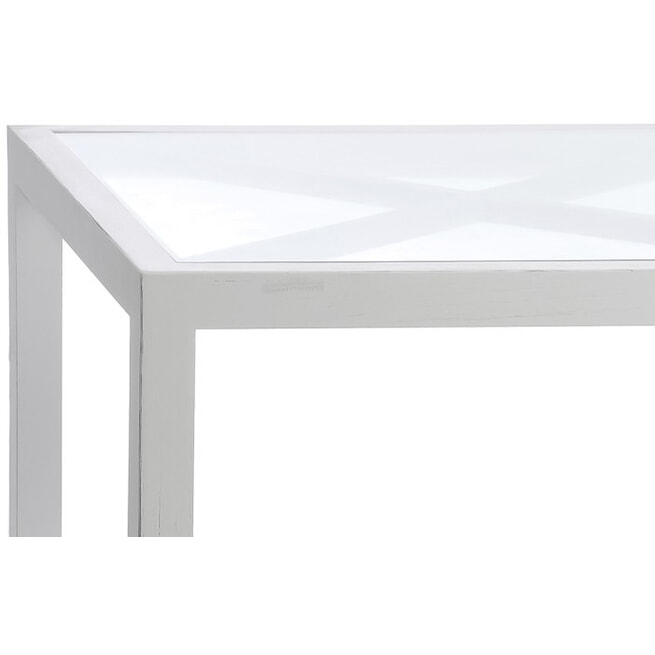 J-Line Salontafel 'Engelbertus' kleur Wit