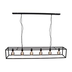 Urban Interiors hanglamp 'Frame XL 160cm', kleur Zwart