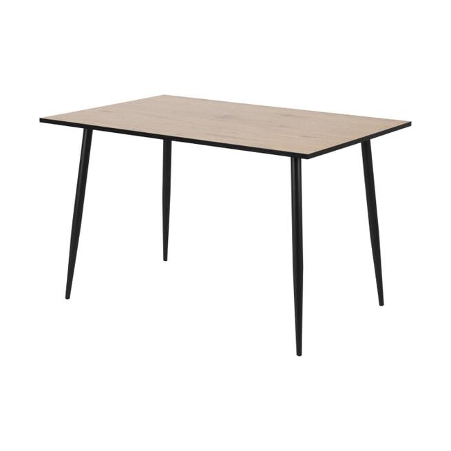 Bendt Eettafel 'Louise' 120 x 80cm, kleur Eiken