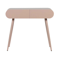 WOOOD Side-table 'Flo', kleur Roze