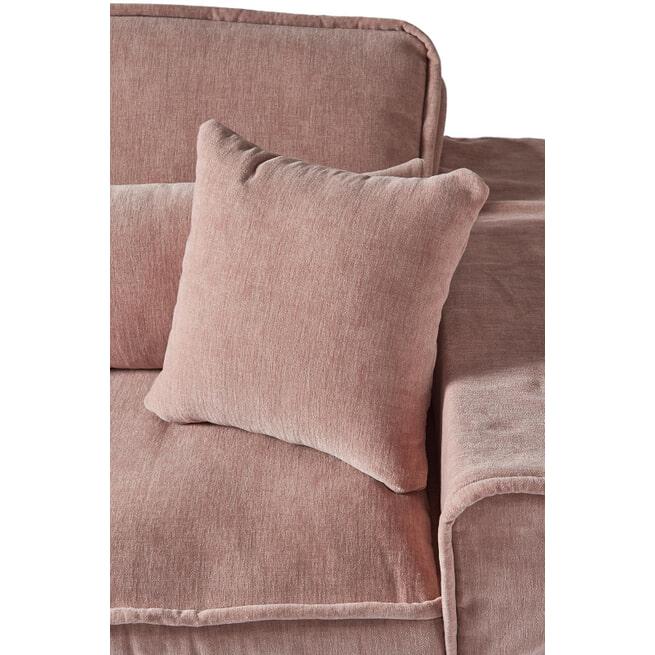 Rivièra Maison 2,5-zits Bank 'Metropolis' Velvet, kleur Blossom