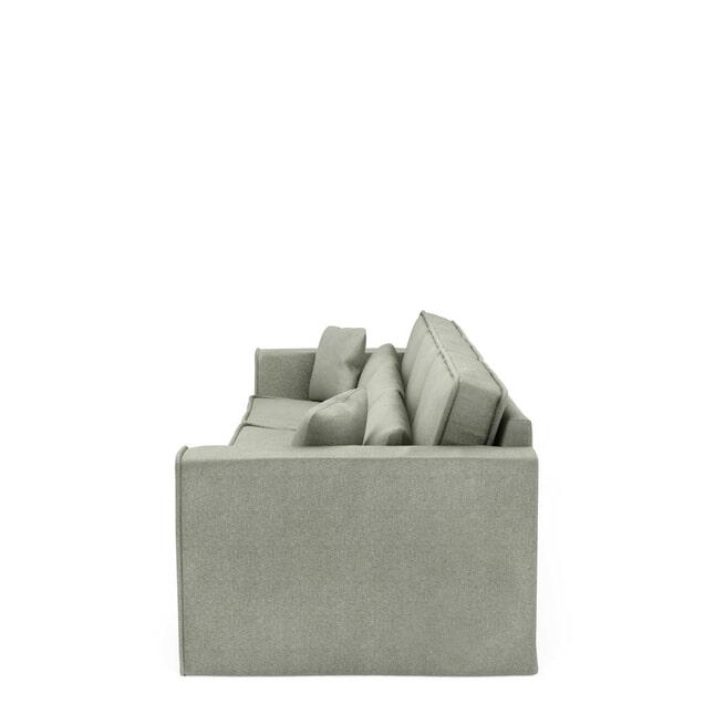 Rivièra Maison Bank 'Metropolis' XL, Velvet, kleur Mint