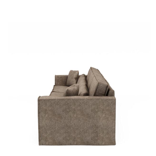 Rivièra Maison Bank 'Metropolis' XL, Velvet, kleur Clay