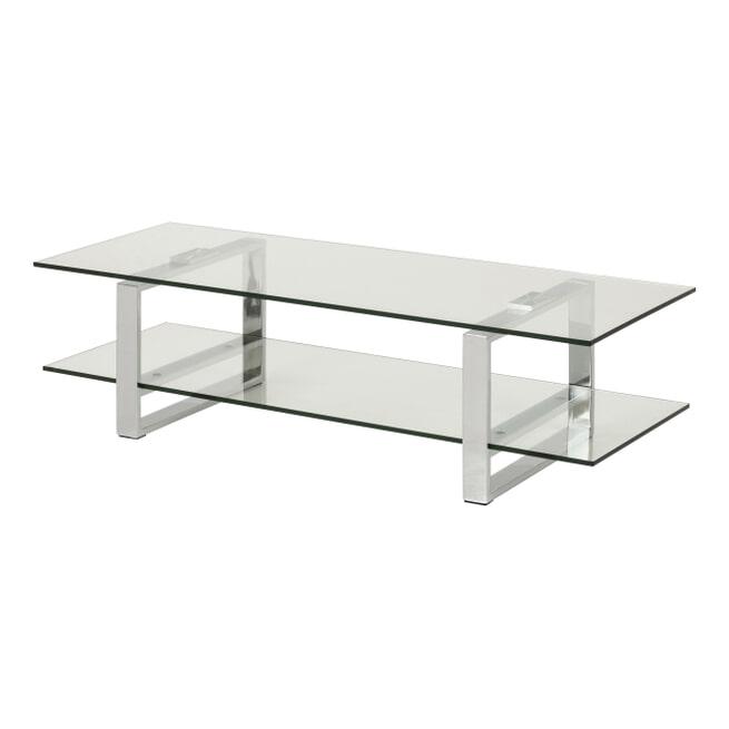 Bendt Glazen TV-meubel 'Lone' 120cm