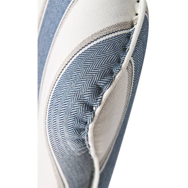 Rivièra Maison Fauteuil 'Cavendish', kleur Blue Stripe