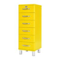 Tenzo Ladenkast 'Malibu' met 6 laden, kleur Geel