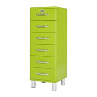 Tenzo Ladenkast 'Malibu' met 6 laden, kleur Groen