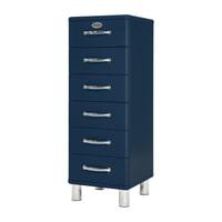 Tenzo Ladenkast 'Malibu' met 6 laden, kleur Blauw