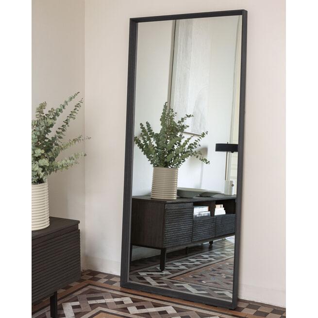 Kave Home Spiegel 'Yvaine' 180 x 80cm, kleur Bruin
