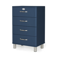 Tenzo Ladenkast 'Malibu' met 4 laden, kleur Blauw