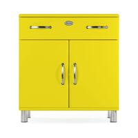 Tenzo Opbergkast 'Malibu' 92 x 86cm, kleur Geel