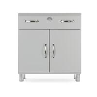 Tenzo Opbergkast 'Malibu' 92 x 86cm, kleur Zilver