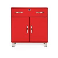 Tenzo Opbergkast 'Malibu' 92 x 86cm, kleur Rood