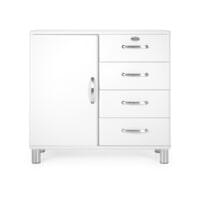 Tenzo Opbergkast 'Malibu' 92 x 98cm, kleur Wit