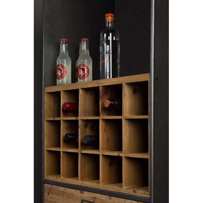 Dutchbone Wijnkast 'Vino' 170 x 56cm