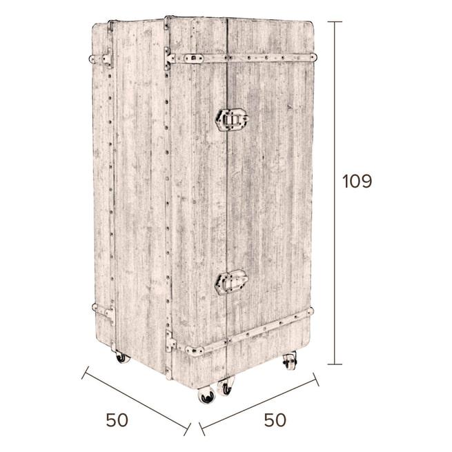 Dutchbone Wijnkast 'Lico' 109 x 50cm