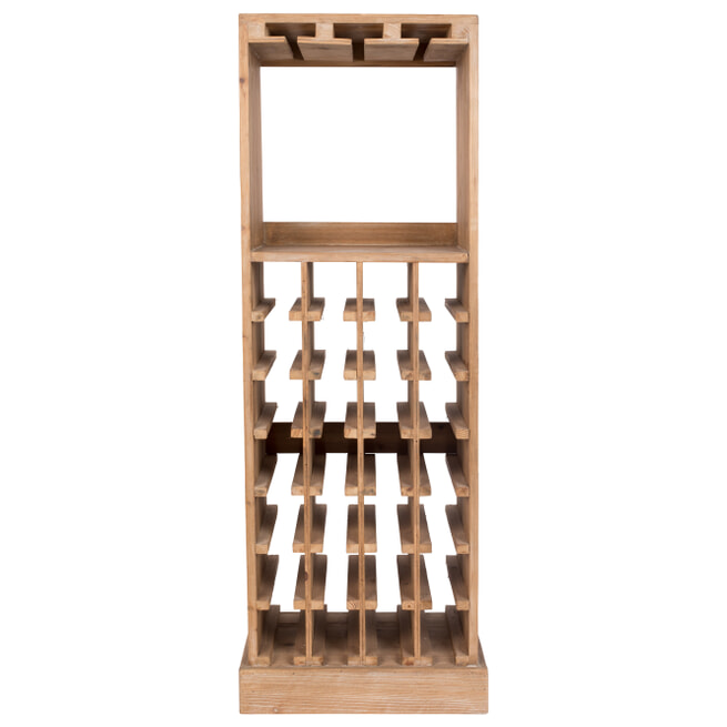 Dutchbone Wijnkast 'Claude' 118.5 x 43.5cm